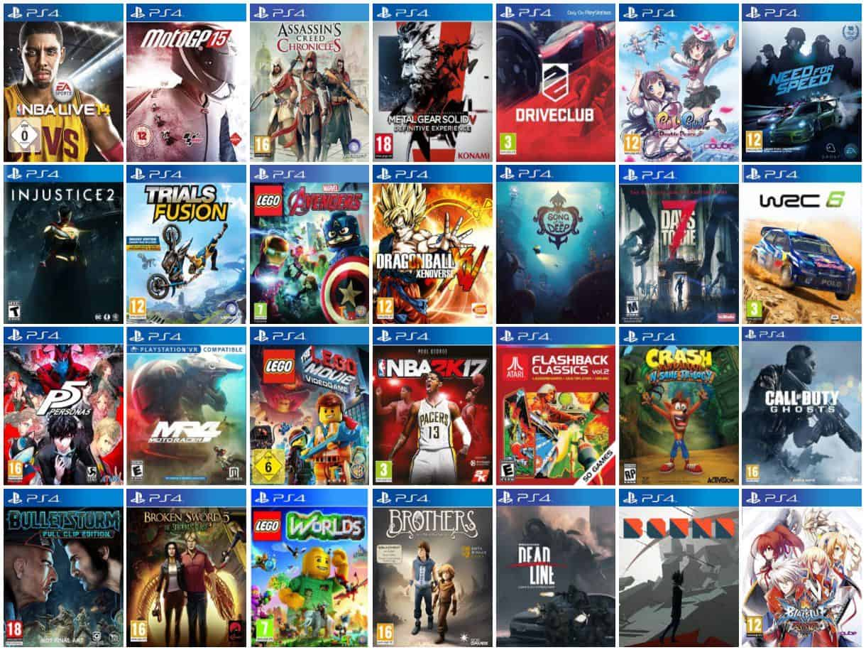 Ps4 Games List